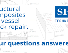 Structural composites for vessel crack repair