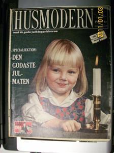 482. Husmodern, veckotidning. Nr: 49 den 2:a December 1949. Pris: 1:-. Fotonr: 100_7565