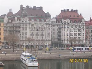 2012 03 08. Utsikt från vårt hotellrum.