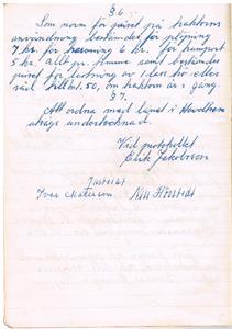 Näs Maskinförening nummer 1  protokollsbok. Första mötet 1951 04 28 del 2