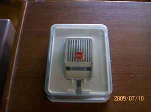 330. Grundig, mikrofon. Typ: GDM 311. Nr: DGM 177 2964. Tillhör Philips rullbandare nr. 324. Fotonr: 100_3697