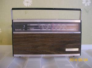 871. Nordmende, transistorradio. Typ: 193A, nr: FTZ-Nr U106. Fotonr: 101_0633