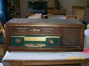 0103. Nornan Radio rörmottagare. Typ: 1802 FM AB Tobo Bruk Tobo. Nummer: 7875. Tillv.år: 1957. Fotonr: 100_1203. Inlagt på webben 2014 06 03.