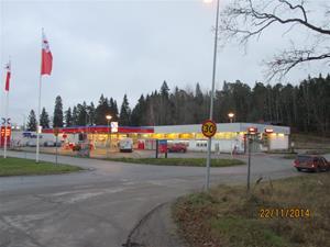 OKQ8 Norrköpingsvägen Finspång. F.d  OK. IMG_0651