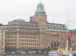 2012 03 09 Hotellet vi bodde på:Radisson Blu Strand.