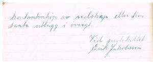 Näs Maskinförening nummer 1  protokollsbok. Uppbördsstämma 1951 12 06 del 2.