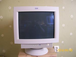 847. IBM, datorskärm. Typ: 6332-92 N. Nr: 66-B3382. Tillv.år: 1999 09 28 i Canada. Fotonr: 101_0596