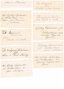 Lyckönskningar till bröllopet 1941 09 13 del 1