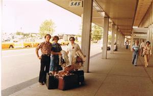 USA-resan 1977.
