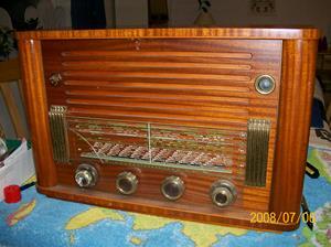 200. Skantic Radio, rörmottagare. Typ: Birgit. Nr: 399216. Fotonr: 100_1333