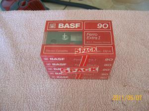 539. BASF, cassetteband. Typ: Ferro Extra 1 C90 Normal. Nr: 3-C 33214. Fotonr: 100_8179