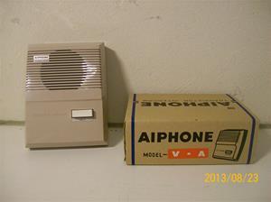 756. Aiphone, V-A. Nr: 22134 Z. Snabbtfn/trapptfn. Tillhör intnr: 757. 101_0404