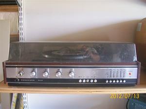 582. Thorn/Ferguson, radiogrammofon. Typ: 3414 S. Nr: 6418. British Radio Corp LTD, Bamton Road Harold Hill Essex England. Fotonr: 100_9336