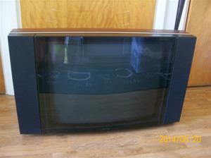 874. Bang & Olufsen TV Beovision LX 6000. Typ: 33/54 EDT SW 1.1. Nummer: 11148635 MK 11. Tillv: 1994 i Danmark. Nypris: 28000:- inkl VHS-spelaren nr. 875 och fjärrkontroll. Fotonummer: 101_0640