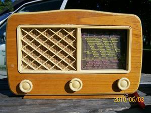 422. Luxor//Radio, rörmottagare. Typ: Luxorita 355 L. Nr: 185258. Fotonr: 100_5893