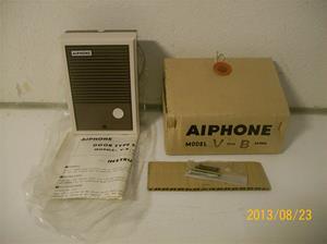 757. Aiphone, V-B. Nr: 21764 Z. Snabb/trapptfn. Hör ihop med intnr 756. Tillbh. enligt bild. 101_0405