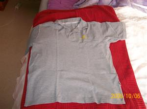 260.  Däldehög, tröja. Typ: Slazenger Active wear. Färg: Ljusgrå. Foto: 100_2255.
