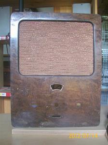 590. Radiochassi, okänt märke och modell. 1930-tal? Fotonr: 100_9346
