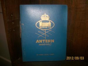 665. Såld. Monark Radio-TV, antennmaterial/bilradio/monteringsanvisning. År: Början av 1960-talet. Tillv.land: Sverige. Fotonr: 100_9663.
