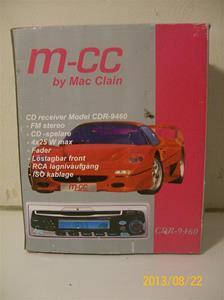 746. M-CC. Typ CDR-9460, by Mac Clain. Nr: 9460 R 1486. Tom originalkartong. Dock finns modellen i min samling. 101_0388