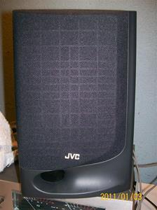 488. JVC, högtalare. Typ: UX-BS 1004. Nr: PT.NO.VGSS 006-002. Fotnr: 100_7571