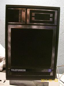487. Telefunken, högtalare. Typ: Basreflex 3 way. Nr: 843129. Fotonr: 100_7570