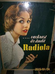 895. Radiola reklamskylt. Fotonr: 101_0683