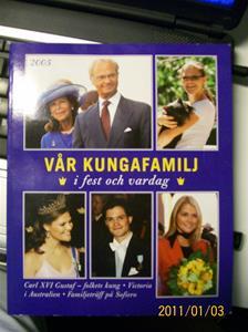 484. Vår Kungafamilj, häfte. Utgivningsdatum: 2005 01 01. ISBN: 91-552-3336-8. Fotonr: 100_7567
