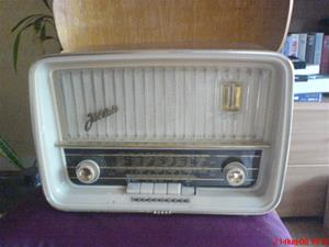 232. Telefunken rörmottagare. Typ: Jubilate 4061 W. Nr: 662012. Tillv.år: 1959. Mobilfoto k750i nr.058.