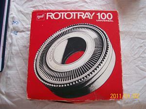 473. GAF, diabildsrotator. Typ: Rototray 100 Universal. Fotonr: 100_7546