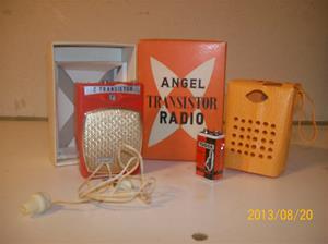 723. Såld. Angel, Boy´s Radio. Transistorradio. 101_0338