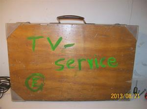 739. Serviceväska för TV-Service. Tidigt 60-tal. 101_0362