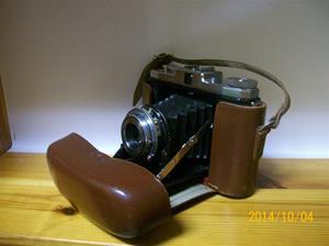 887. Såld. Zeiss, kamera. Typ: Ikon Nettar. Suttgart Germany. Fotonummer: 101_0661.