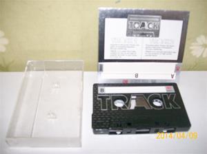 846. Track 1 80. Typ: 80. Tillv.år 1981-85. Ett försök som pågick några år att tillverka ett Svenskt kassettband. Fotonr: 101_0595