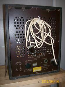 910. AGA Baltic Radio AB, rörmottagare. Typ: AGA Riksmottagare. Nr: 145370. Fotonr: 101_0742.