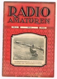 Radioamatören nr 5 Maj 1932.