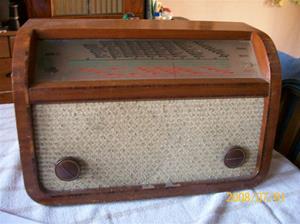 089. G Marconi rörmottagare. Typ: 1944 AC Marconi Phone. Nummer: 43819. Fotonr: 100_1173. Inlagt på webben 2014 06 03.