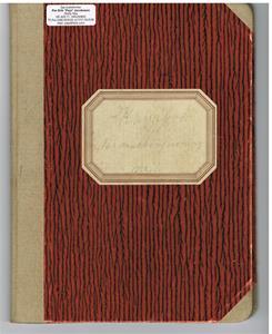 Kassabok för Näs Maskinförening nummer 1 1951-57