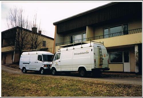 Mina servicebussar på Däldehög 2.