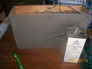 579. Tudor, batteripack. Typ: 1 03-20030/01, för telefoner. Tillv: 4080 Torrbatterifabriken Ängelholm. Fotonr: 100_9329