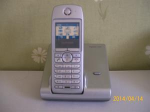 852. Såld. Siemens Gigaset S440, trådlös telefon. Utställnings exemplar. Fotonr: 101_0603