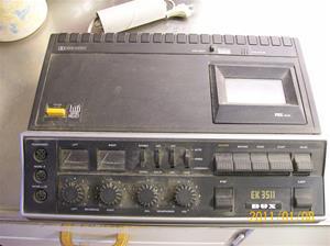 502. Dux, cassettedäck. Typ. EK 3511/33. Nr: 1330960. Fotnr: 100_7622