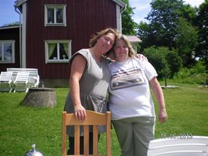 SANY0017. Exgrannen Annelie och Maria.