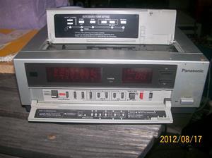 601. Panasonic, Video Tuner/Timer från Sveriges Radio/Television. Typ: NV-V10. Nr: B3LA01339. Fotonr: 100_9466