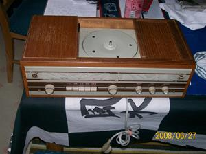 028. Monark, radiogrammofon. Typ: 256. Nummer: 74551. Fotonummer: 100_1057