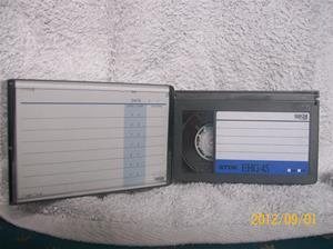 645. TDK, videoband. Typ: VHS-C. Nr: AHF 1207. Fotonr: 100_9621.