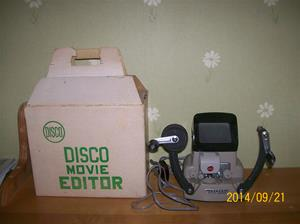 882. Disco filmredigeringsapparat. Typ: Movie Editor (8mm). Nr: ? Fotonummer: 101_0654