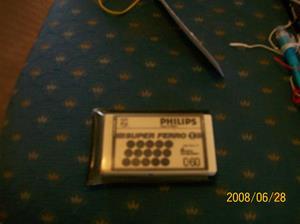 029. Philips, måttband. Typ: Reklam för kassettband. Nummer:?. Fotonr: 100_1064