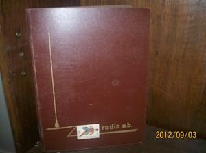 662. Moon Radio AB, servicebok. Tillv.land: Sverige. Färg: Rostbrun. Fotonr: 100_9660.