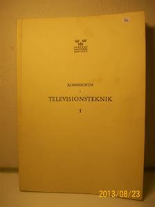 766. Studiebok, Statens Hantverks Institut. Kompendium i Televisionsteknik. Nr.1 år 1959. 101_0420